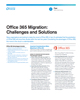 Office 365 Migration: Challenges and Solutions