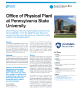 Office of Physical Plant at Pennsylvania State University