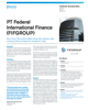 PT Federal International Finance (FIFGROUP)