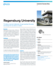 Regensburg University Success Story