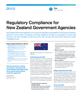 Regulatory Compliance for New Zealand Government Agencies