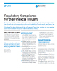 Regulatory Compliance for the Financial Industry