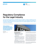 Regulatory Compliance for the Legal Industry