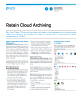 Retain Cloud Archiving: Email, Social Media, and Mobile