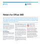 Retain for Office 365