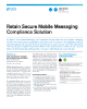 Retain Secure Mobile Messaging Compliance Solution