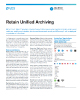 Retain Unified Archiving