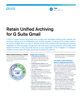 Retain Unified Archiving for G Suite Gmail