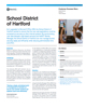 School District of Hartford Success Story
