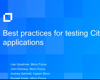 Silk Performer: Best Practices for Testing Citrix Applications