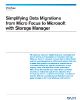 Simplifying Data Migration through Storage Manager White Paper