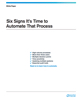 Six Signs It's Time to Automate That Process