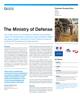 The Ministry of Defense Success Story