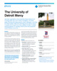 The University of Detroit Mercy