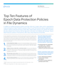 Top Ten Features of Epoch Data Protection Policies in File Dynamics