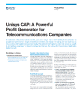 Unisys CAP - A Powerful Profit Generator for Telecommunications Companies Flyer