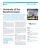 University of the Sunshine Coast Success Story