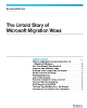The Untold Story of Microsoft Migration Woes Business White Paper