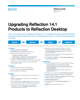 Upgrading Reflection 14.1 Products to Reflection Desktop Guide