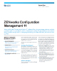 ZENworks Configuration Management Data Sheet