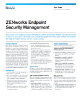 ZENworks Endpoint Security Management Data Sheet