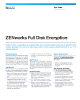 ZENworks Full Disk Encryption Data Sheet