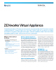 ZENworks Virtual Appliance Flyer