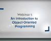OOP Webinar 1 - Introduction to Object-Oriented Programming