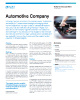 Automotive Company Success Story