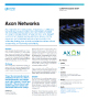 Axon Networks Success Story