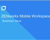 Business Value of ZENworks Mobile Workspace