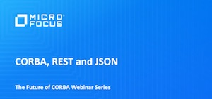 CORBA, REST and JSON