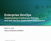 Enterprise DevOps: Implementing Continuous Delivery and Self-Service Application Deployment
