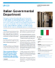 Italian Governmental Department Success Story