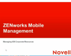 Mobile Management iOS Corporate Resources