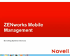Mobile Management Symbian Devices