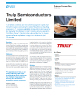 Truly Semiconducters Limited Success Story