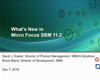 What's new in Micro Focus SBM 11.2