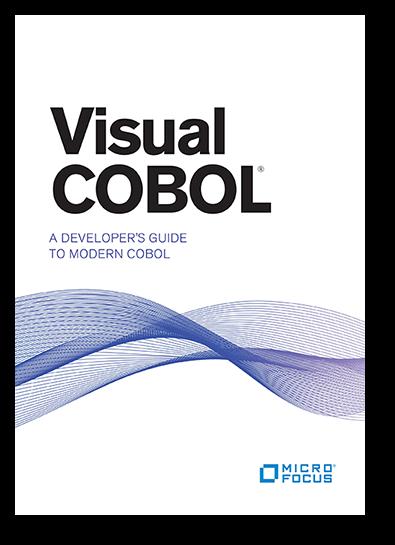 Visual COBOL: A Developer\'s Guide to Modern COBOL | Micro Focus