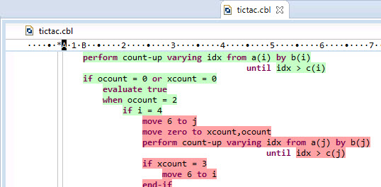 Viewing the Code Coverage Information