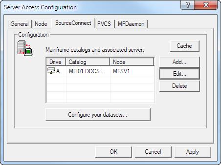 Configure Mainframe Drives