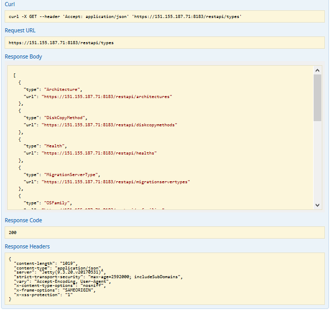 Navigating the API Documentation - PTM 2 REST API Reference