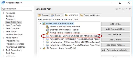 Using a File Handler in JVM COBOL